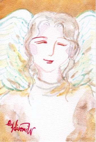 黄金色の微笑む天使