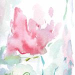 光に融ける薔薇