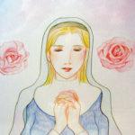 祈りのマリア像