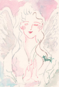 微笑む天使