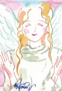 2020年10月28日の天使(夜)「救いの天使」 3/100
