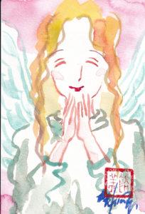 2020年10月30日の天使(夜)「喜ぶ天使(Smile  angel1)」5/100