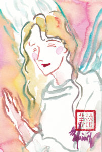 2020年11月3日の天使(夜)「笑顔の天使」9/100