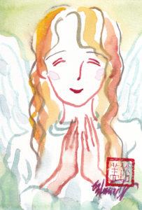 2020年11月6日の天使(夜)「癒しの天使」12/100