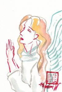 2020年11月8日の天使(朝)「祈りの天使」14/100