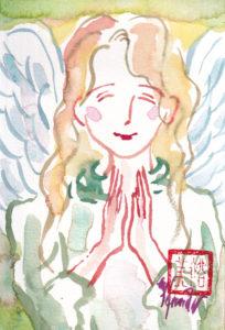 2020年11月9日の天使(夜)「微笑む天使」15/100