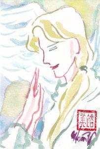 2020年11月11日の天使(夜)「男性の天使」17/100
