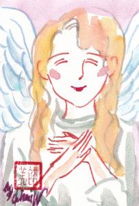 2020年11月12日の天使(夜)「微笑む天使」18/100