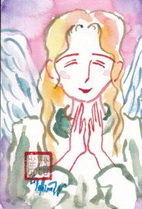 2020年11月17日の天使(夜)「微笑む天使」23/100