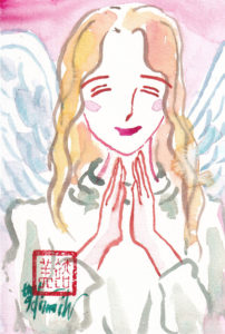 2020年11月22日の天使(夜)「幸せの天使」28/100