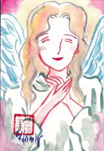 2020年11月25日の天使(夜)「喜びの天使(Smile angel 2)」31/100