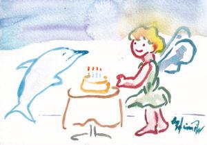 2020年12月1日の天使(夜)「かねイルカさん、お誕生日おめでとう☆彡」37/100