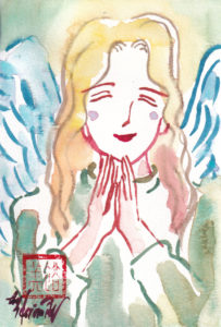 2020年12月2日の天使(夜)「微笑む天使」38/100