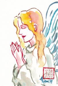 2020年12月8日の天使(夜)「横顔の天使」44/100