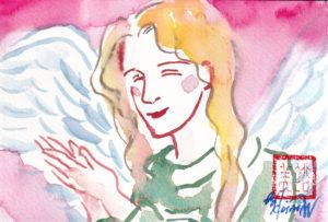 2020年12月10日の天使(夜)「見守ってるわ」46/100