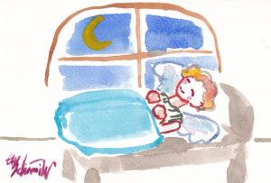 2020年12月13日の天使(夜)「ちっちゃい天使、おやすみなさいー^^」49/100