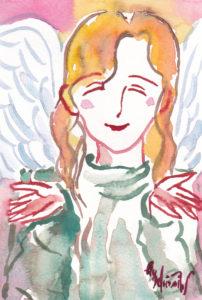 2020年12月14日の天使(夜)「おかえりなさい^^*」50/100