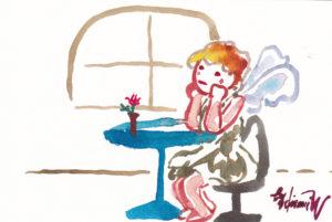 2020年12月17日の天使(夜)「メランコリー」53/100