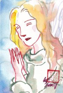 2020年12月20日の天使(夜)「嘆きの天使」56/100
