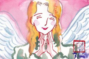 2020年12月22日の天使(夜)「微笑む天使(笑顔)」58/100