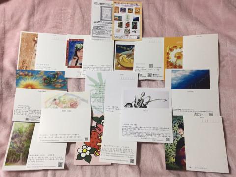 額に飾れるアートポストカード集・全作品