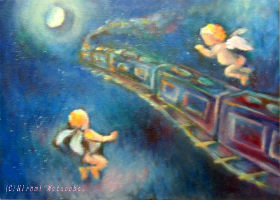 銀河鉄道の夜、天使